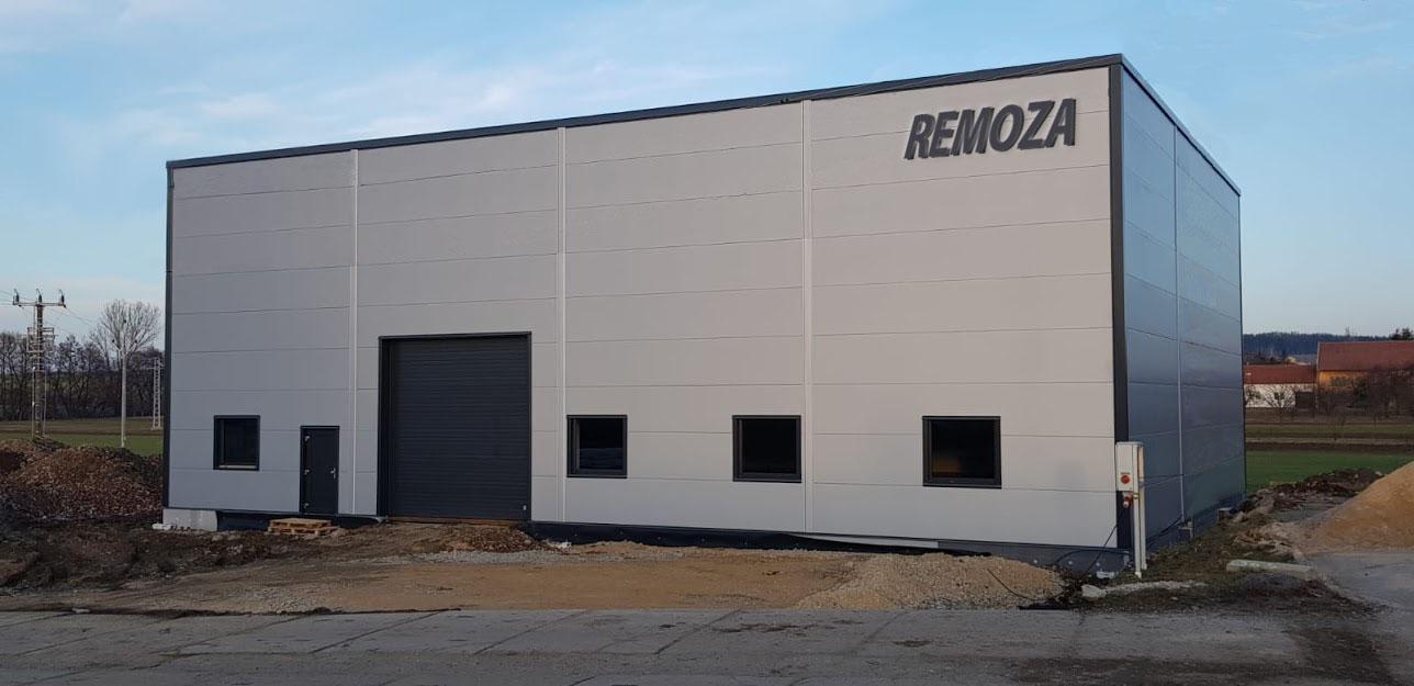 REMOZA s.r.o - ocelové konstrukce a zámečnictví